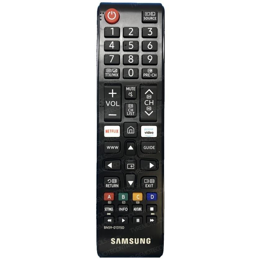 Samsung HG55EJ690 originální dálkový ovladač.