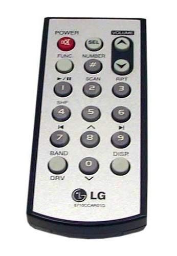 LG 6710CCAR01G Náhradní dálkový ovladač jiného vzhledu pro LAC-M6500R