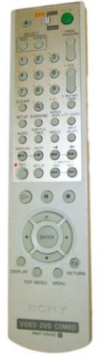Sony SLV-D970P  náhradní dálkový ovladač jiného vzhledu.