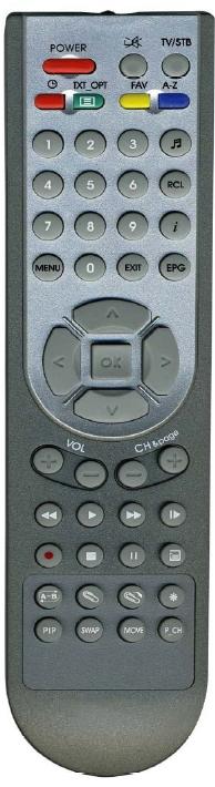 Mascom MC1321T PVR originální dálkový ovladač