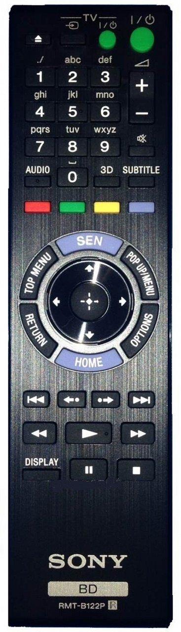 Sony RMT-B122P originální dálkový ovladač.
