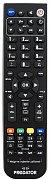 Náhradní ovladač pro Diginium, Telestar, Elemis, Technosonic  LCD TV+DVD
