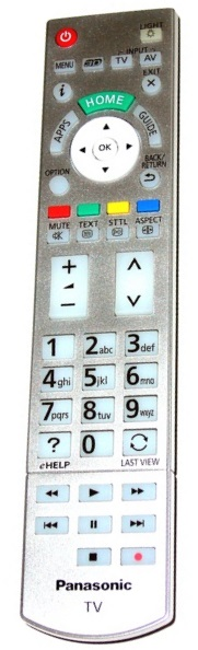 Panasonic N2QAYB000842 originální dálkový ovladač