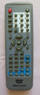 Elta 8895 DVDP náhradní dálkový ovladač jiného vzhledu.