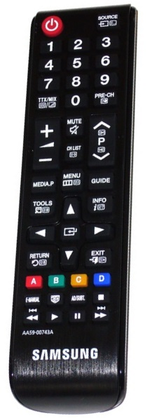 The Samsung AA59-00743A has been replaced by the original AA59-00800A remote control