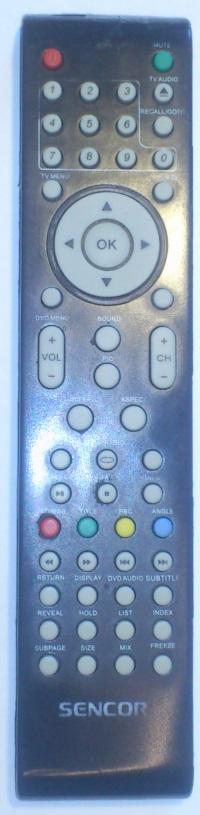 Sencor SLT1957DVD náhradní dálkový ovladač jiného vzhledu