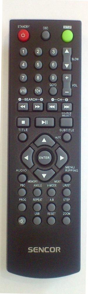Sencor SHC-XD013 originální dálkový ovladač