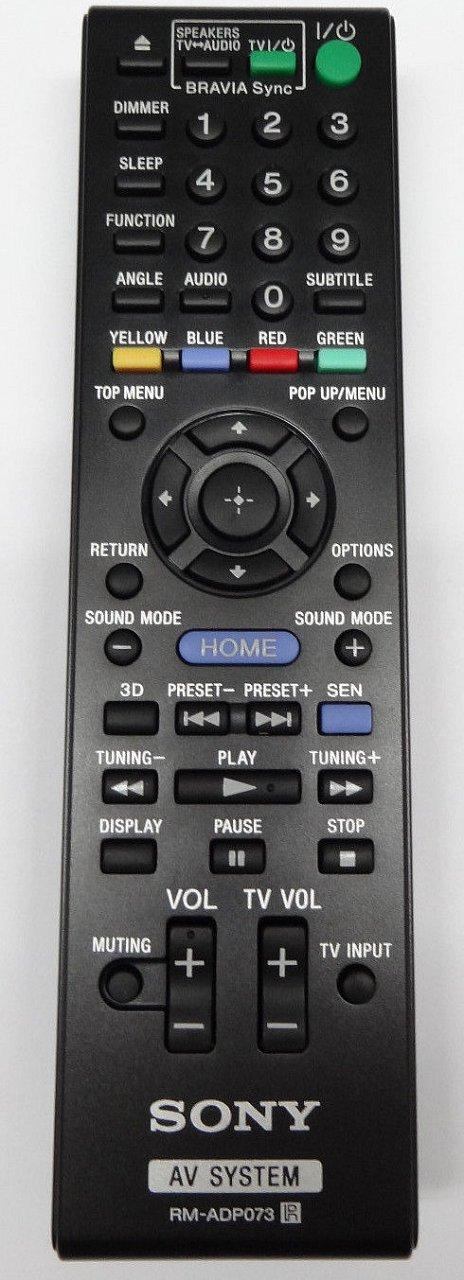 Sony RM-ADP073 náhradní dálkový ovladač jiného vzhledu