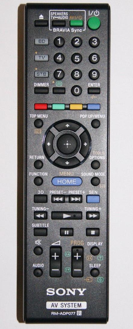 Sony RM-ADP077 originální dálkový ovladač