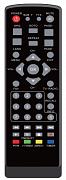 Gosat GS100HD, GS150HD náhradní dálkový ovladač stejného vzhledu.