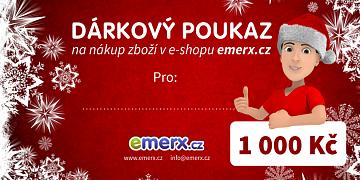 Dárkový poukaz EMERX v hodnotě 1000,-Kč