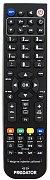 Radiotone JV5501–STEREO, TV2151VTDELUX, TV510AV/DELUX náhradní dálkový ovladač jiného vzhledu