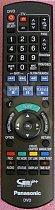 Panasonic N2QAYB000124 Originální dálkový ovladač - nahrazuje také N2QAYB000125, N2QAYB000127, N2QAYB000128, N2QAYB000129,