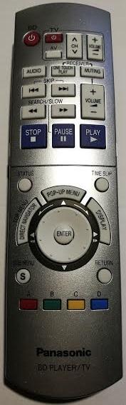 Panasonic EUR7658Y90 náhradní dálkový ovladač jiného vzhledu