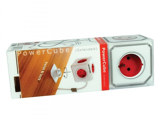 Přívod PowerCube PWC-P Extended Red (8718444081180)