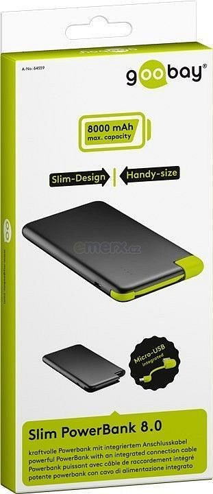 Powerbank 8.0 (8000mAh) slim